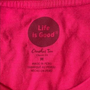 Life Is Good Tops - Life Is Good Crusher long sleeve
